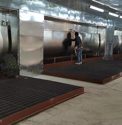 喷漆水帘柜工程